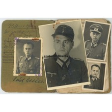 16.Pz.Div. Officer Soldbuch, Unteroffiziervorschule Jülich
