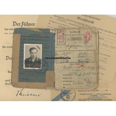 Bordfunker Soldbuch grouping
