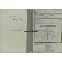 KIA Gebirgsjäger Wehrstammbuch