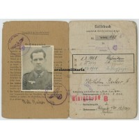 Soldbuch 331.ID Normandy, 361.VGD Holland