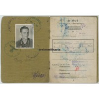 Soldbuch & photo grouping officer candidate