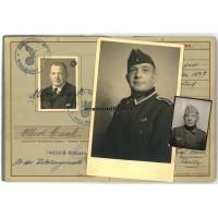 Wehrpass 198.ID Nachschub soldier