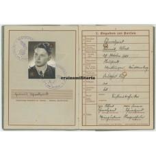 35.ID Lithuania KIA Wehrpass, 22.06.1941
