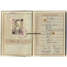 275.ID Normandy MIA Wehrpass