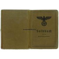 Early France 1940 KIA Soldbuch