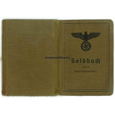 Early France 1940 KIA Soldbuch