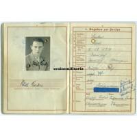 Poland 1939 WIA Wehrpass 4.Pz.Div.