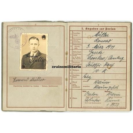 13.Pz.Div. KIA Wehrpass Russia 1941