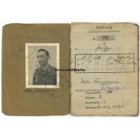 Festungs-Brigade Kreta Soldbuch
