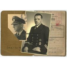 Kriegsmarine officer grouping, EK1, Uboot