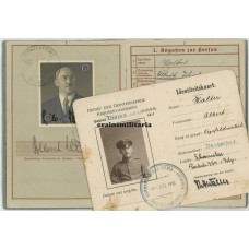 WWI Document grouping - Holland internment