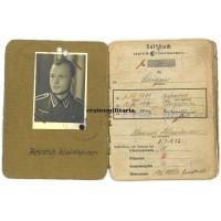 Soldbuch grouping Demjansk WIA, Holland 190.ID