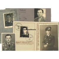 Wehrpass grouping Flak Spiess