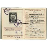 Normandy KIA Wehrpass SS Götz von Berlichingen