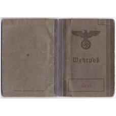 Wehrpass & Militärpass Somme veteran