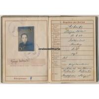 331.ID Normandy Wehrpass, KIA Seine 1944
