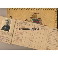 HJ Mitgliedsausweis with father's photo album