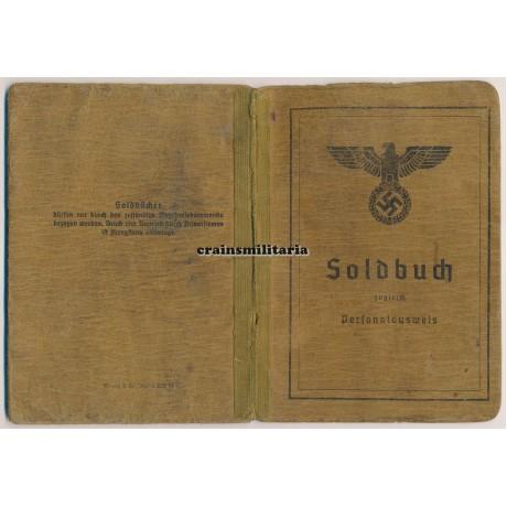 Baupionier Soldbuch - Poland 1945