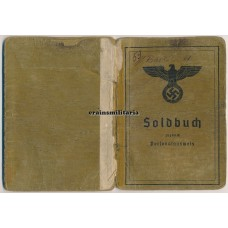 Baker Soldbuch, killed in Russian captivity