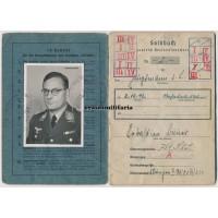 Luftwaffe Hauptmann Soldbuch