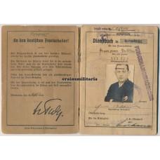OT Dienstbuch Norway, Reichsautobahn worker