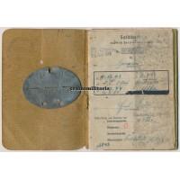 Soldbuch & Dogtag - WIA Poland 1945