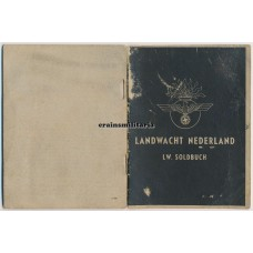Dutch collaboration Soldbuch Landwacht Nederland