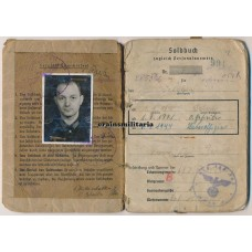 95.ID Soldbuch, frostbite