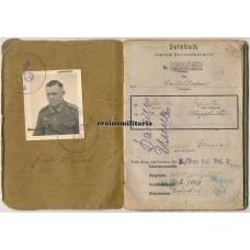 Kubanschild Soldbuch, died as POW