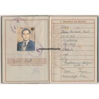 Demjansk KIA Wehrpass 30.ID - posthumous EK2