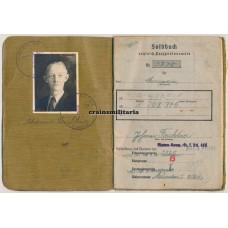 Aachen 1944 POW Soldbuch 49.ID