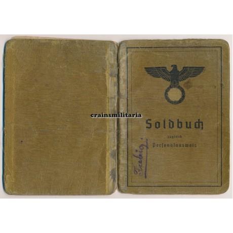 93.ID Soldbuch - 4 awards