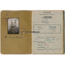Soldbuch 344.ID France, Landesschützen