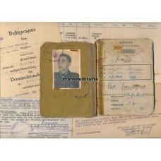 Pionier Soldbuch grouping, Kursk WIA, Holland 1945