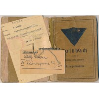 Kriegsmarine officer Soldbuch, Uboot inspection
