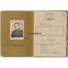 Soldbuch demoted soldier, prison time
