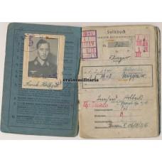 21.Pz.Div. Soldbuch, Nordwind, Oder 1945