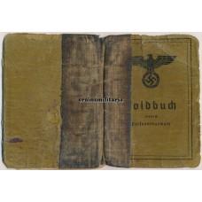 Demjanskschild Soldbuch 30.ID, WIA France 1940