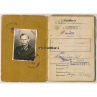 Soldbuch 237.ID WIA partisans Istria 1945