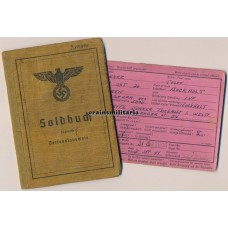 9.Pz.Div. Aachen POW & WIA Soldbuch