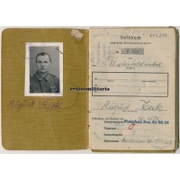France 1944 POW Soldbuch, 6 awards