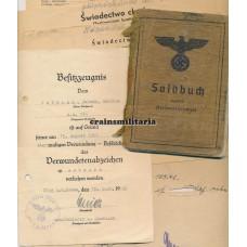 362.ID Italy EK2 Soldbuch, Stalingrad 76.ID