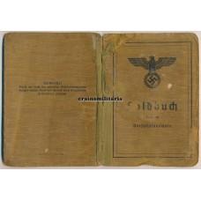 Combat Pionier Soldbuch, 9 awards, 7 Nahkampftage