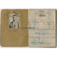 Soldbuch 16.VGD Saar 1945