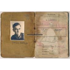 Poland 1944 Soldbuch 208.ID