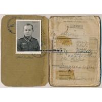 Soldbuch Fla.Btl.816, Nahkampftage Hürtgenwald & France 1944