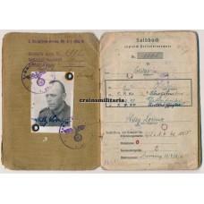 Soldbuch 6. Armee - Stalingrad