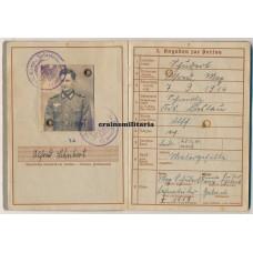 370.ID KIA Wehrpass, France 1940 IAB