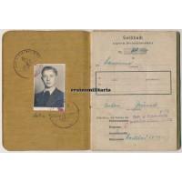 189.ID Füsilier Soldbuch, France 1945