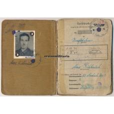 Soldbuch 7.ID, Belgium 1940